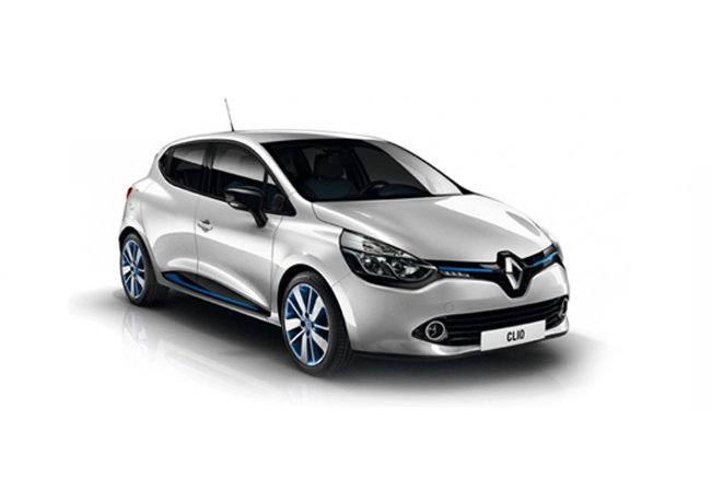 Clio Hatchback Icon Navigation